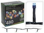 Svietiaca reťaz 480 LED multi IN/OUT