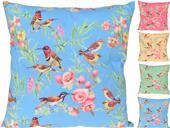 Vankúš vtáčiky a kvety, 4 farby