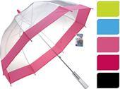 Dáždnik priesvitný s farebným lemom / CR 425222