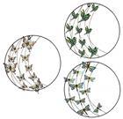 Kruh na stenu - motýľ, vtáčik, vážka