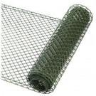 Plastové pletivo, zelené / 6050202