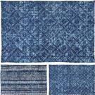 Koberec modrý vzor, malý / CR 630529