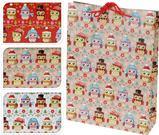Darčeková taška - sovičky s čiapkami