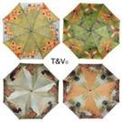 Dáždnik -  motýv lesná zver  / TP256