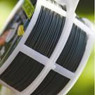 Viazací drôt potiahnutý plastom zelený pr.0,8 mm, 50 m /  6040460