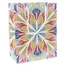 Darčeková taška, farebný kvet, veľká