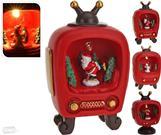 Vianočná dekorácia televízia