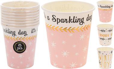 Sada papierových pohárov / CR 629778