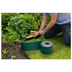 Záhradný obrubník zelený / 6040631