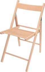 Skladacia stolička z bukového dreva / 616470