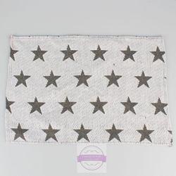 Prestieranie biele so šedými hviezdičkami / GP297