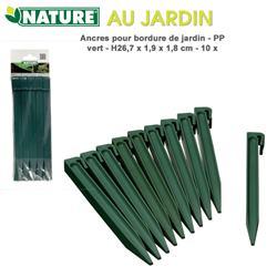 Kotviaci kolík pre obrubník zelený / 6040634