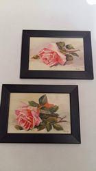 Obraz malý kvety v rámiku