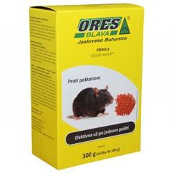 ORES proti potkanom pšenica, 3 x 100 g