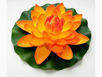 Lotus Foam Orange 28 cm / 123673