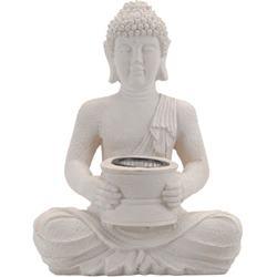 Budha solárny polystone bledý / CR 283053