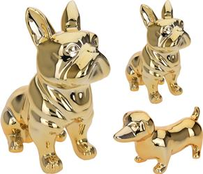 Pes zlatý - jazvečik, buldog