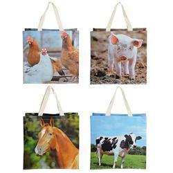 Praktická nákupná taška, domáce zvieratá  / TP140