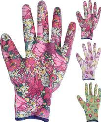 Rukavice s kvetovým vzorom, 9 druhov