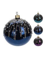 Vianočná guľa zdobená