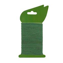 Jutový pletený špagát zelený / 6040527