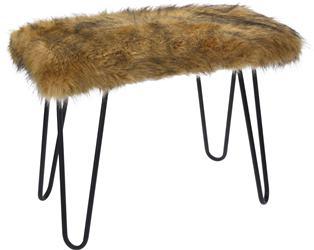 Kožušinová stolička
